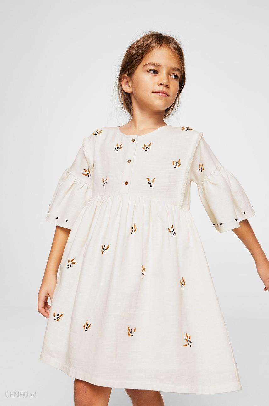 1483752702 Mango Kids - Sukienka dziecięca Rustic 110-152 cm - Ceny i opinie ...