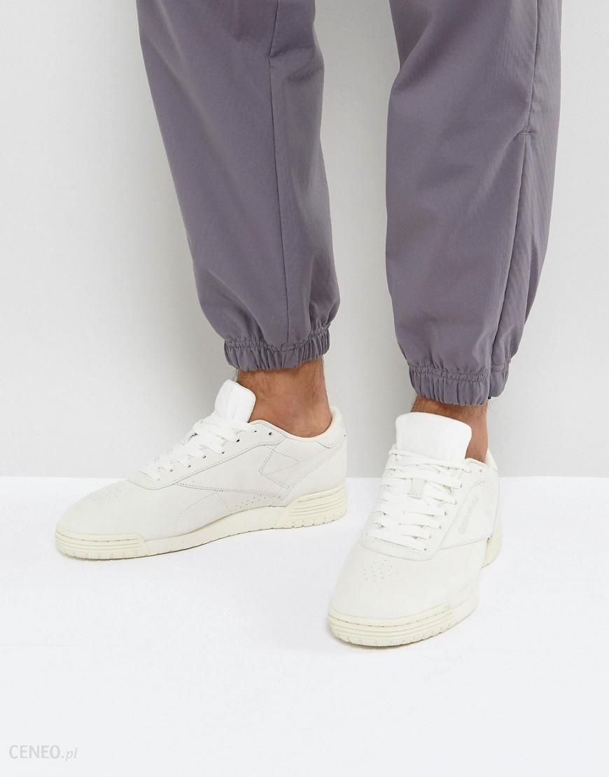 Reebok Ex O Fit Lo Clean Trainers In White BS8316 White Ceneo.pl