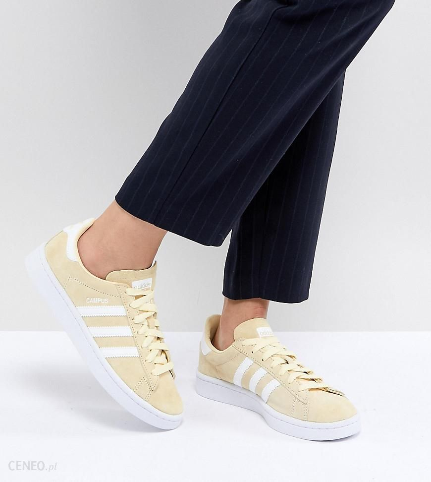 Adidas Originals Campus Trainers In Lemon Yellow Yellow Ceneo.pl