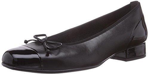 f7479942 Amazon Gabor Shoes 6.102 damski zamkniętej składane baleriny - czarny -  42.5 EU - zdjęcie 1