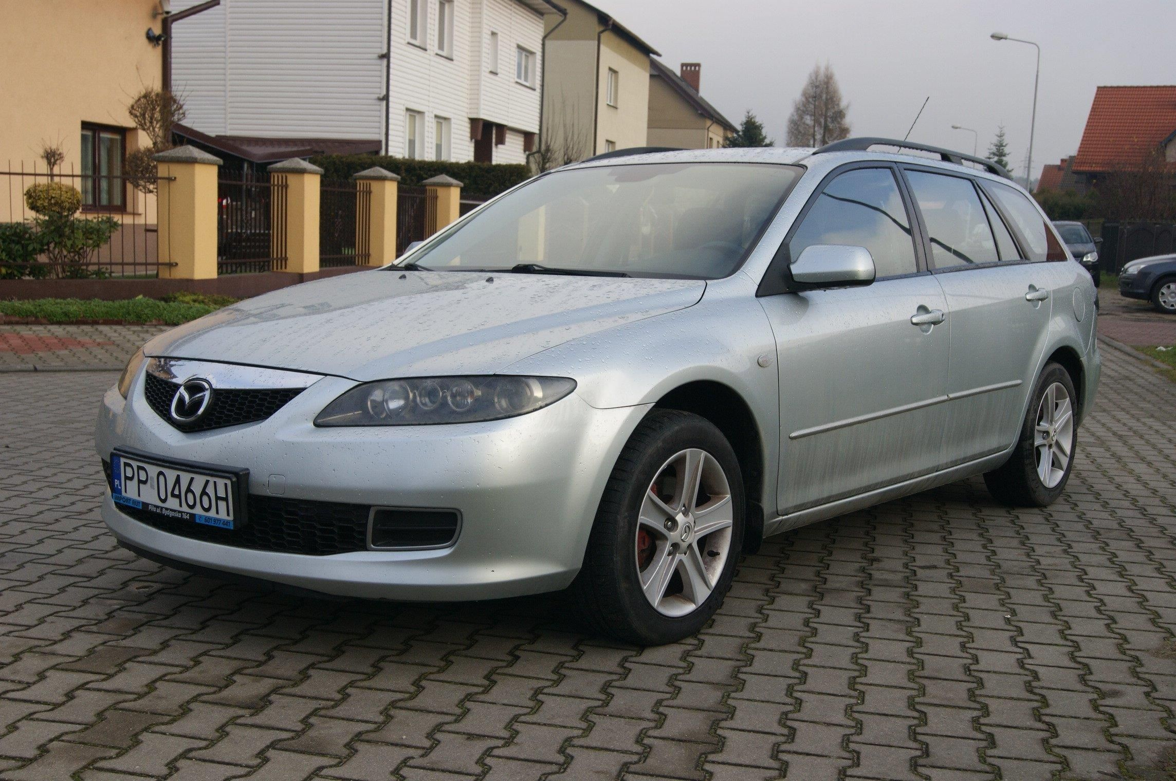 mazda 6 i 2006 benzyna lpg 140km kombi srebrny opinie. Black Bedroom Furniture Sets. Home Design Ideas