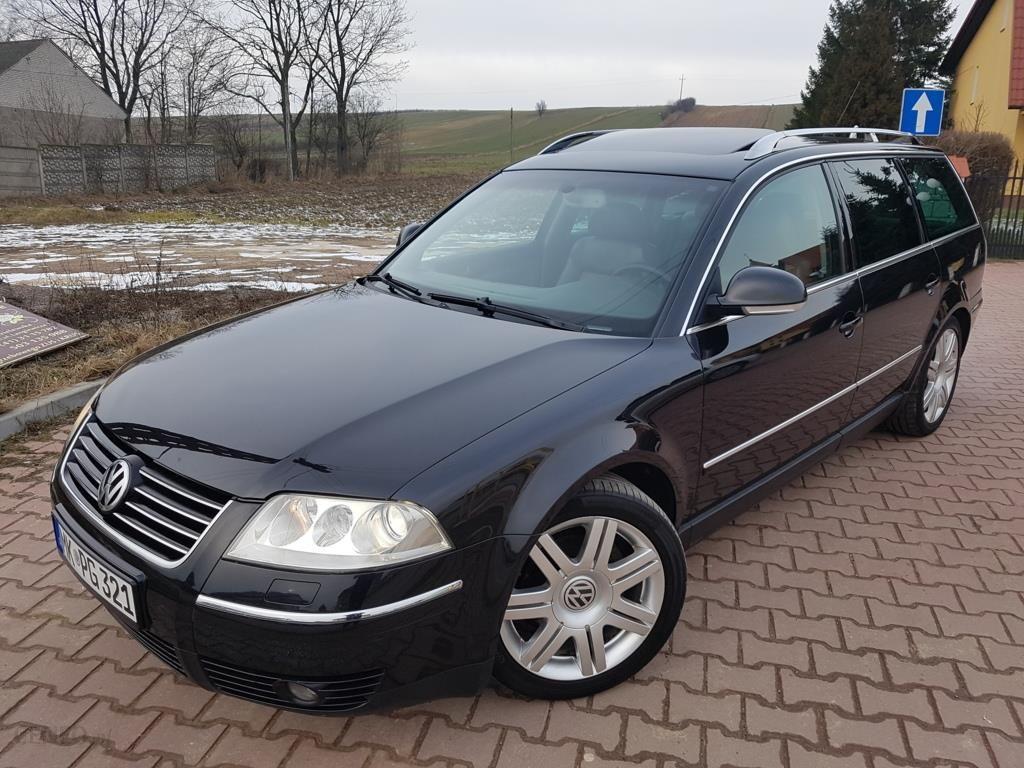 volkswagen passat b5 fl 2004 diesel 131km kombi czarny. Black Bedroom Furniture Sets. Home Design Ideas
