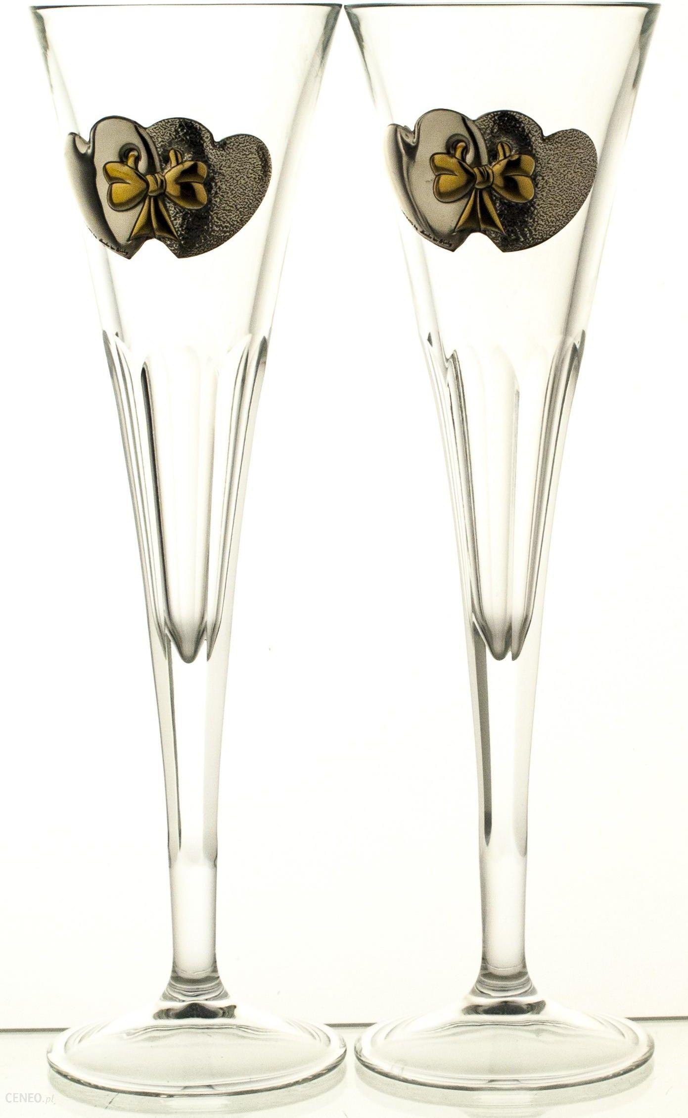 b94d6dbd66 Kieliszki ślubne 2 sztuki do szampana pod grawer 05829 - Opinie i ...