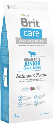 Brit Care Grain Free Junior Large Salmon & Potato 14kg