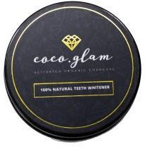 Coco Glam Activated Organic Charocal Proszek do wybielania zębów 30g