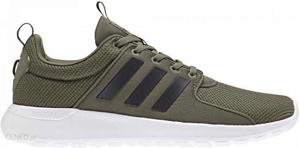 buty adidas neo ciemnozielone czarne brązowe białe