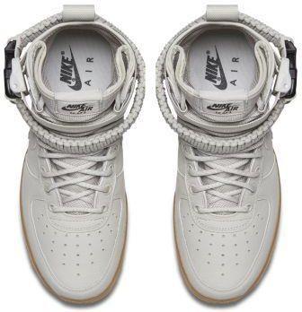 Buty damskie Nike SF Air Force 1 Mid Kremowy rozowy