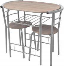 Vidaxl Stolik Barowykuchenny Krzesła Mdf