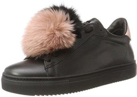 Amazon białymstoku, damskie buty typu sneaker - czarny - 40 EU