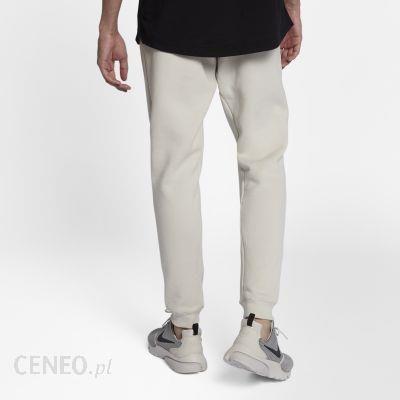 Męskie spodnie typu jogger z dzianiny Nike Sportswear Modern Kremowy Ceny i opinie Ceneo.pl