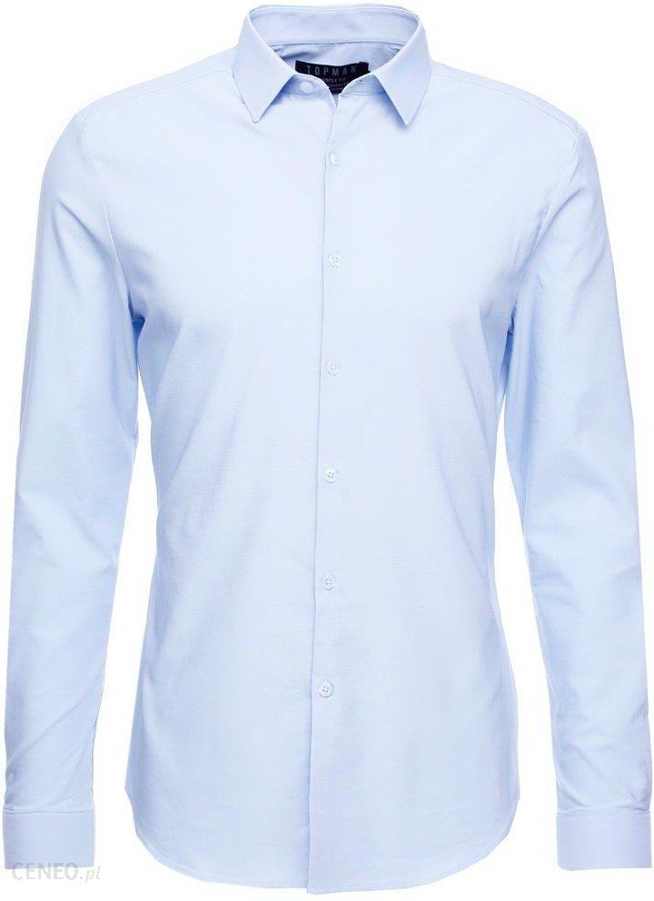 Topman Bluza light blue Ceny i opinie Ceneo.pl