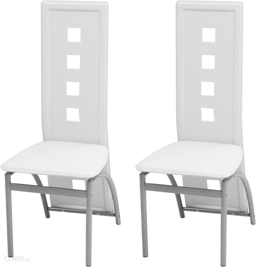 Vidaxl Krzesła Do Jadalni Ze Sztucznej Skóry 2 Szt 243646