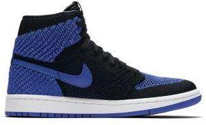 buy online daa87 ffcd0 Nike Buty dla dużych dzieci Air Jordan 1 Retro High Flyknit - Niebieski ...