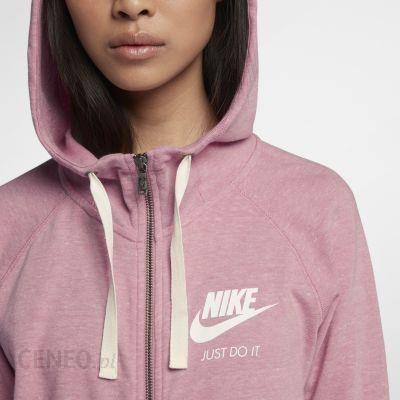 Damska rozpinana bluza z kapturem Nike Sportswear Gym Vintage Różowy Ceny i opinie Ceneo.pl