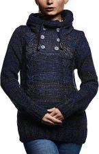 Amazon leif Nelson sweter damski sweter Hoodie bluza z kapturem kurtka z długim rękawem bluza sweter kołnierzem szalowym do robienia na drutach ln2022