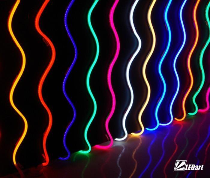 LEDart Wąż świetlny LED Neon Flex RGB 230V 1m