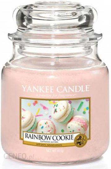 Yankee Candle Small Jar Mała świeczka Zapachowa Rainbow Cookie 104g