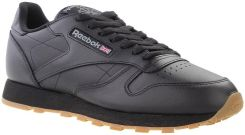 Reebok, Buty męskie, Leather Black, rozmiar 45 Ceny i opinie Ceneo.pl