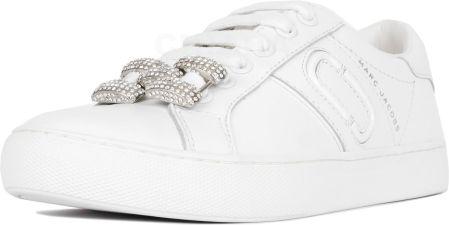 ab1384e5b1abc Białe Trampki White Leather Sneakers High - Ceny i opinie - Ceneo.pl