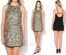 ffc7953175 Sukienka mini cekinowa kolorowa na ramiączka - Ceny i opinie - Ceneo.pl