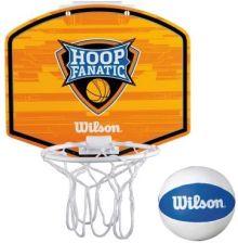 Wilson Zestaw Mini Hoop Fanatic Bskt Kit Wtba00435