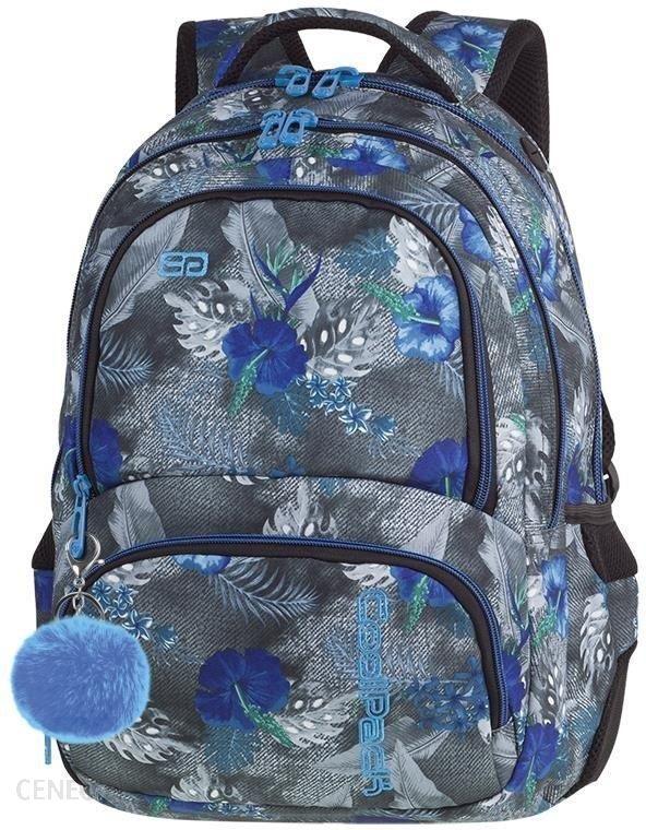 6ea002c1fb190 Patio Coolpack Spiner Plecak Szkolny Blue Hibiscus 86841Cp - Ceny i ...