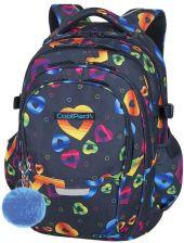 c7e72eb72dba8 Patio Coolpack Factor Plecak Szkolny 29L Rainbow Hearts 86360Cp - zdjęcie 1
