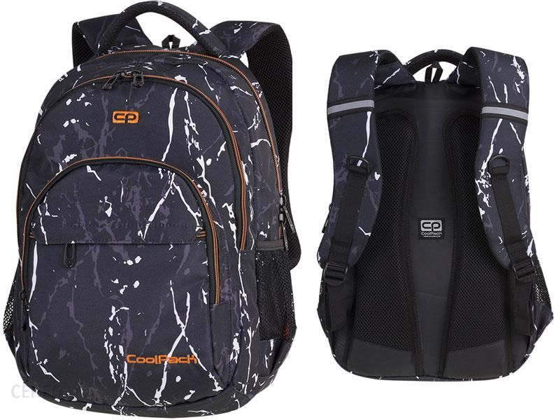 fa5859a703469 Patio Coolpack Basic Plus Plecak Szkolny Black Marble 84512Cp - zdjęcie 1
