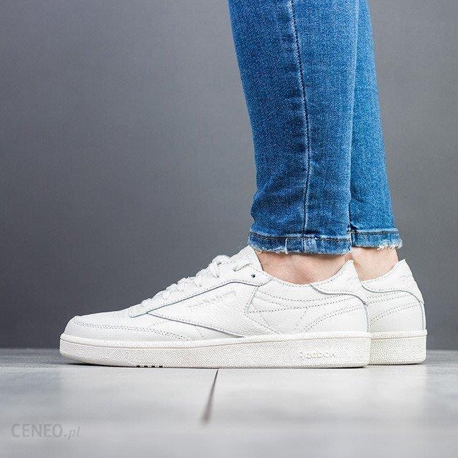 Buty damskie sneakersy Reebok Club C 85 CN0873 KREMOWY Ceny i opinie Ceneo.pl
