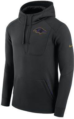 f87274a83 Męska bluza z kapturem Nike Fly Fleece (NFL Ravens) - Czerń ...