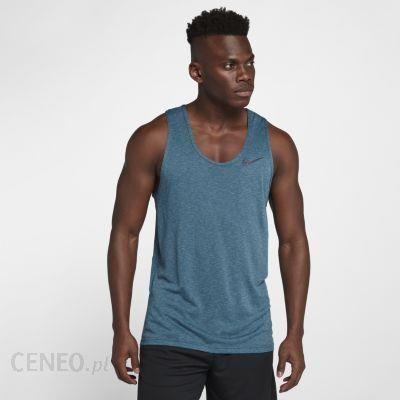 d38f2afa8 Męska koszulka treningowa bez rękawów Nike Breathe - Niebieski - zdjęcie 1