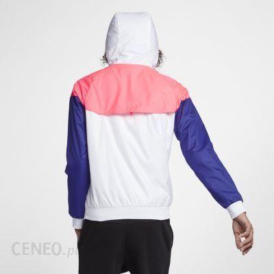 Kurtka męska Nike Sportswear Windrunner Biel Ceny i opinie Ceneo.pl