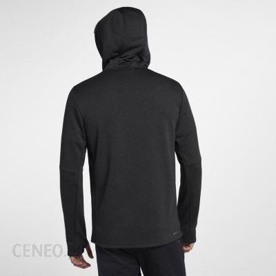 Męska bluza z zamkiem na całej długości i kapturem Hurley Dri FIT Expedition Czerń czarny Nike