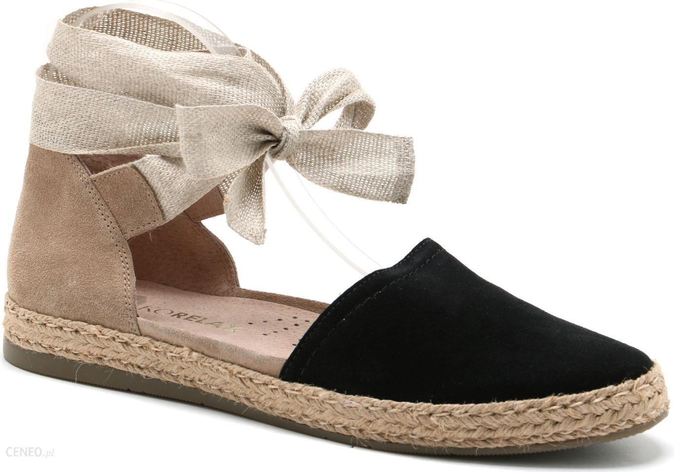 Espadryle Ryko 1mkn3 Xp6 Ceny I Opinie Sandal Wedges Zr01 Tan Zdjcie 1