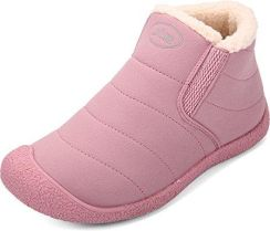 16b0f30aee5c1 Amazon Damskie buty, trzewiki zimowe gracosy dziewcząt płaski botki Warm  śpiworek mniejsze miękkie buty zimowe