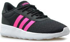 buty adidas damskie czarno różowe lite racer