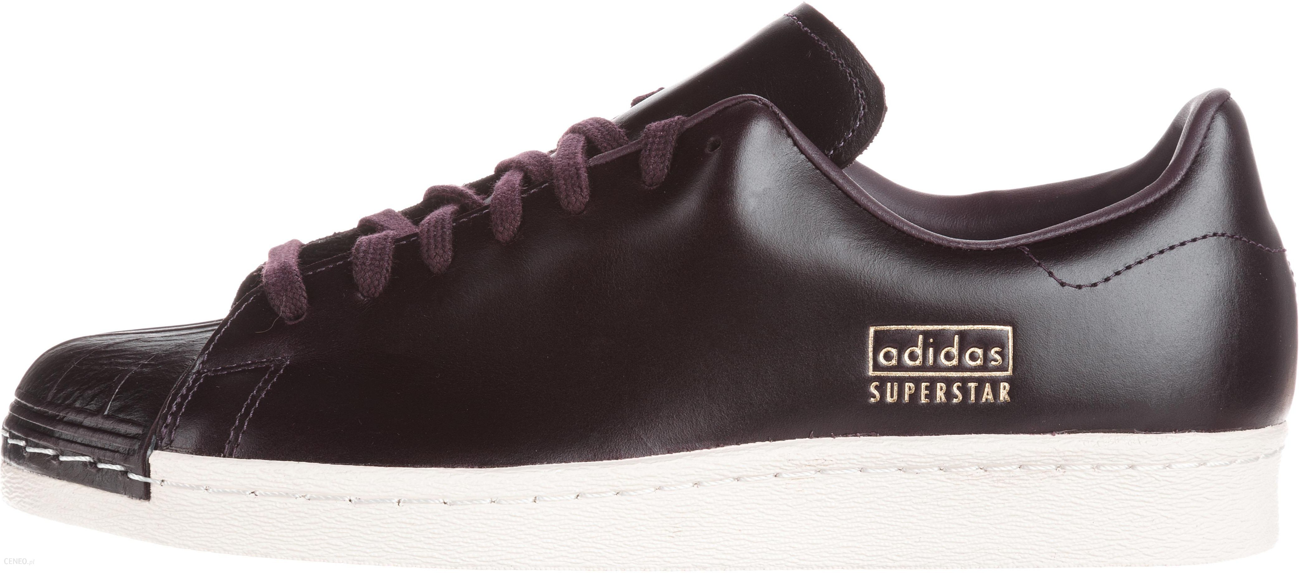 Adidas Originals Superstar 80's Clean Sneakers Fioletowy 40 23 Ceny i opinie Ceneo.pl