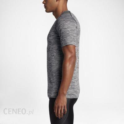c17906329 Nike Męska Koszulka Z Krótkim Rękawem Dri Fit Knit Szary 833562010 -  zdjęcie 1
