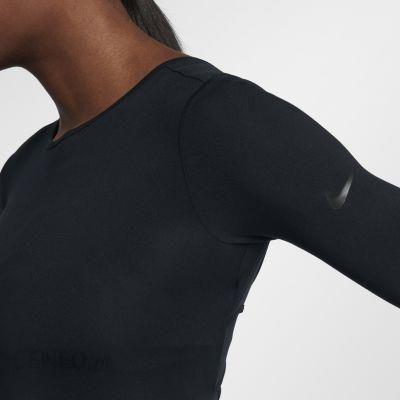 Nike Damska Koszulka Treningowa Z Długim Rękawem Dri Fit Czarny 899589010 Ceny i opinie Ceneo.pl