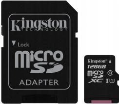 Kingston microSDXC 128GB Canvas Select C10 UHS-I (SDCS128GB)
