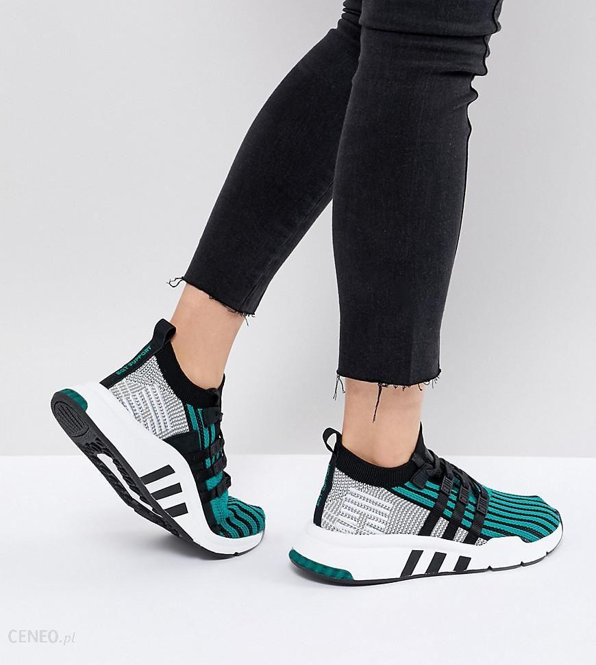 Adidas Originals EQT Support Mid Adv Primeknit Trainers In Green Green Ceneo.pl