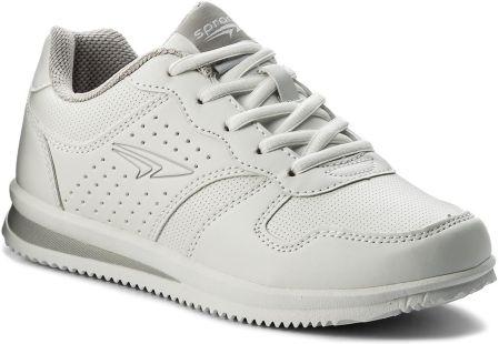 71112fa9ddb4e7 Sneakersy TORY BURCH - Scallop Triple Strap Sneaker 51461 Snow White ...