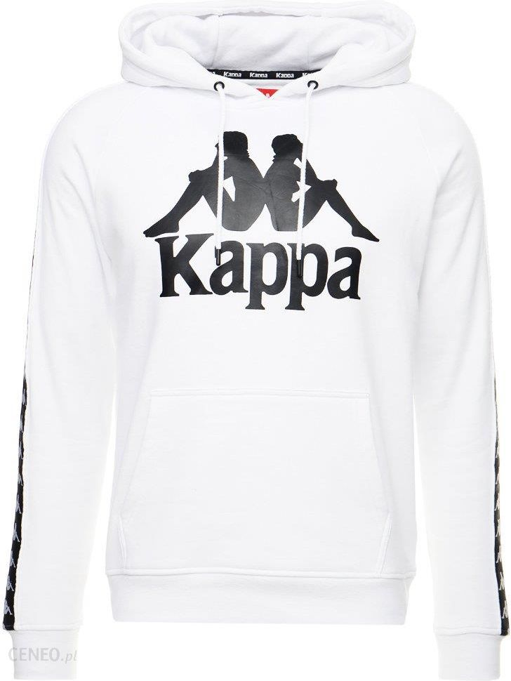 100% najwyższej jakości Najnowsza innowacyjny design Kappa AUTHENTIC HURTADO Bluza z kapturem white/black - Ceny i opinie -  Ceneo.pl