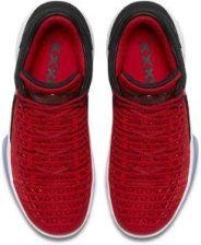 Nike Buty do koszykówki dla dużych dzieci Air Jordan XXXII Low Czerwony AA1257 603