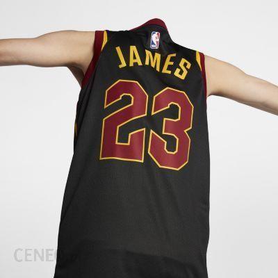 meet 22139 e23bb Nike NBA Connected Jersey LeBron James Statement Edition Swingman Jersey  (Cleveland Cavaliers) czarny 877201010 - Ceny i opinie - Ceneo.pl