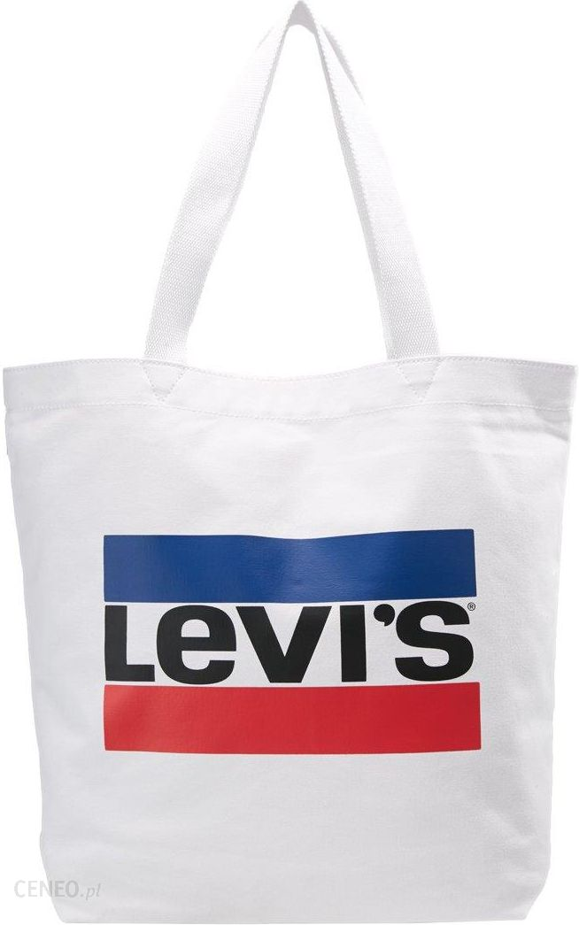 29038571deee0 Levi's® OLYMPIC LOGO TOTE Torba na zakupy regular white - Ceny i ...