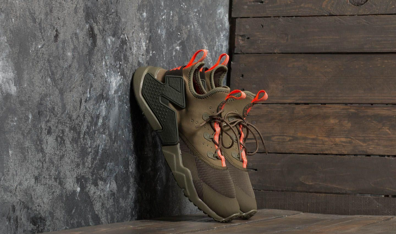 a0fa214ed1bd Nike Huarache Drift (GS) Medium Olive  Total Crimson - zdjęcie 1