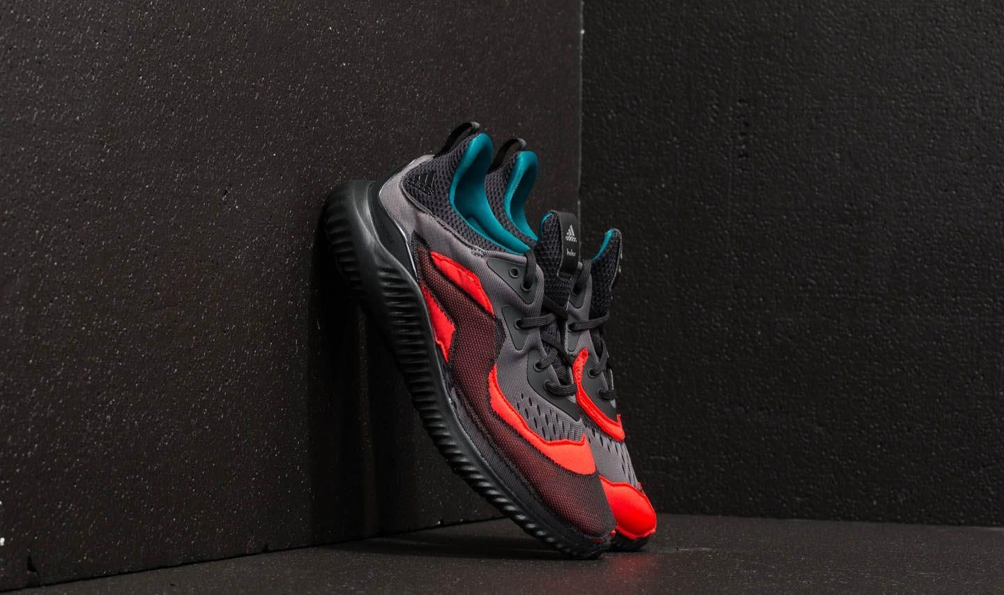 detailed look f3b1b 6b4ef adidas Alphabounce (kolor) Core Black Grey Two Hi-Res Red -