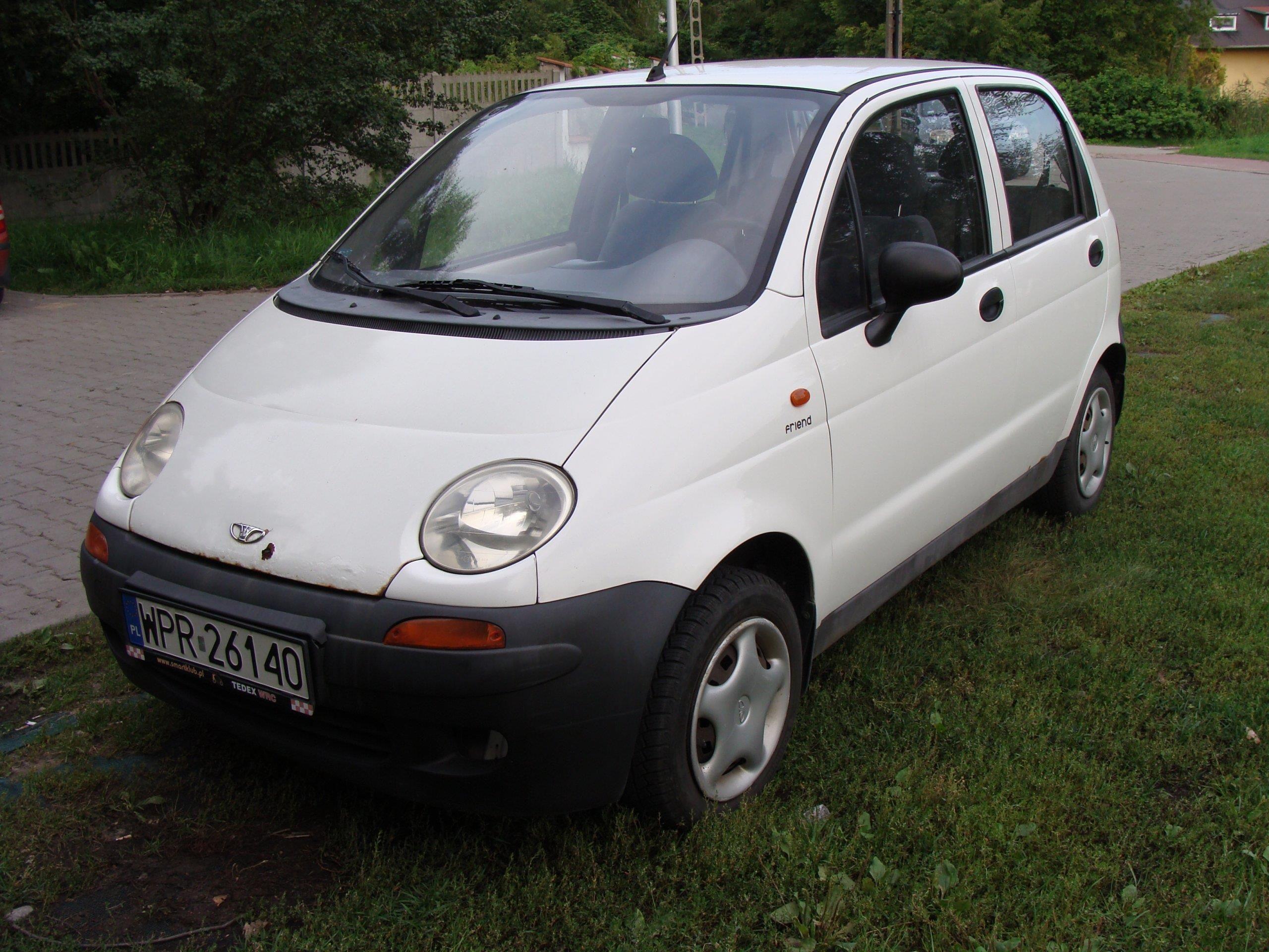 Daewoo Matiz 2002 51km Biały Opinie I Ceny Na Ceneopl