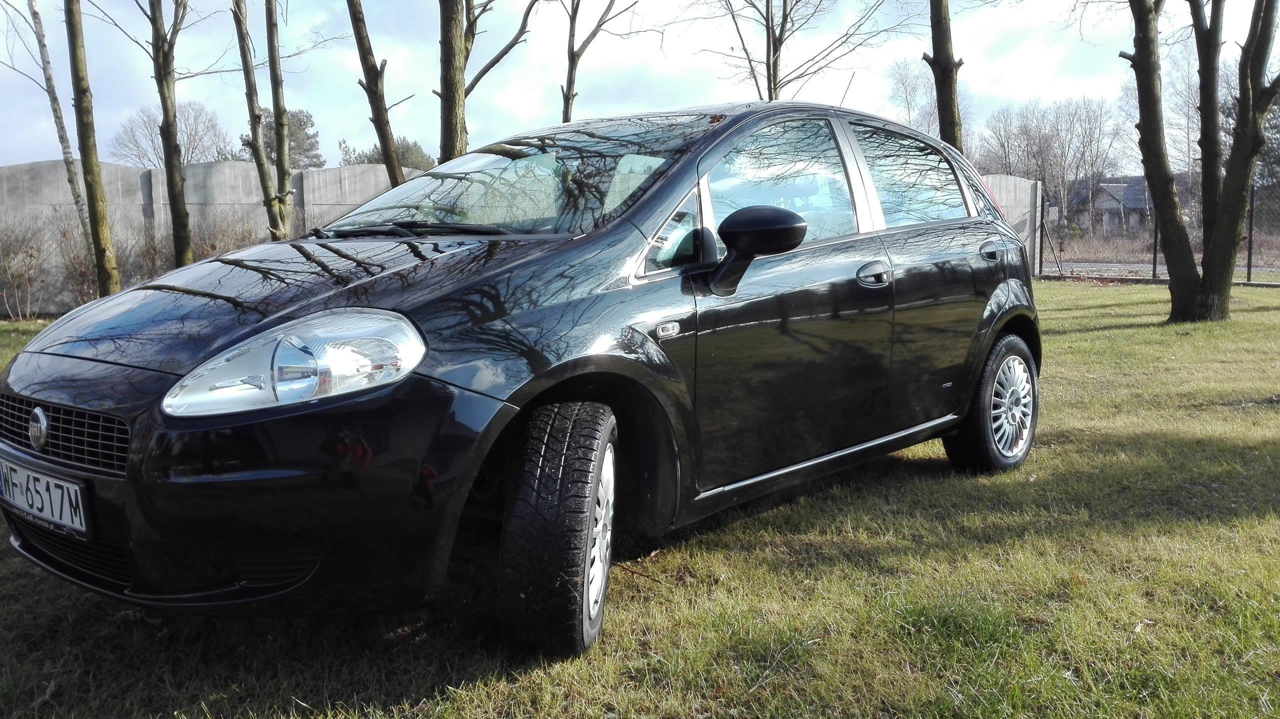 Fiat Grande Punto 2006 Benzyna 80km Sedan Czarny Opinie I Ceny Na
